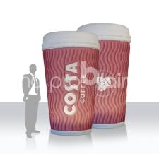 aufblasbarer riesiger Kaffeebecher XXL