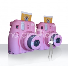 riesige Objekte aufblasbar - Produktnachbildung Kamera Fuji