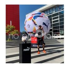 riesiger aufblasbarer Ball - aufblasbarer Riesenball Puma La Liga