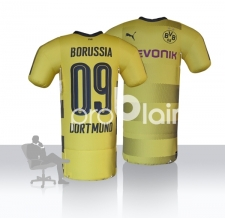 aufblasbare Promotion - aufblasbares Trikot - riesige BVB Shirts