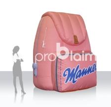 aufblasbare Sonderform - Manner Rucksack