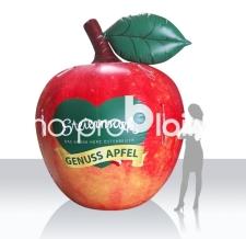 riesiger Apfel aufblasbar - Genussapfel Steiermark