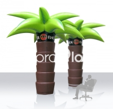 Aufblasbare Figur - Bacardi Palme aufblasbar