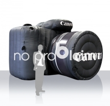 riesiges aufblasbares Werbeobjekt- aufblasbare Produktnachbildung - Canon Kamera