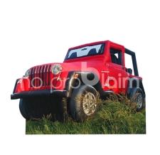 riesiges aufblasbares Auto - Jeep Wrangler