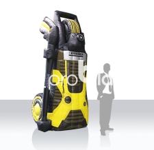 aufblasbare Produkte - aufblasbare Produktnachbildung XXL - Kärcher Hochdruckreiniger