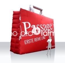Aufblasbare Produktnachbildung - aufblasbare Passage Einkaufstasche