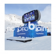 große aufblasbare Produkte - Produktnachbildung aufblasbar - Sony Playstation PS Vita