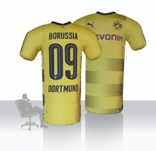 aufblasbare Promotion - riesige BVB Shirts