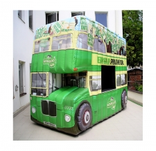 aufblasbarer Autobus Kerrygold
