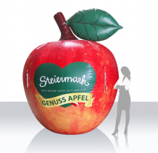 Apfel aufblasbar - Genussapfel Steiermark