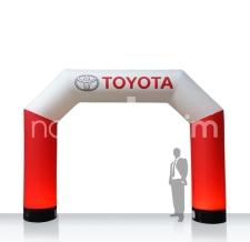 aufblasbarer kleiner Durchgangbogen - Bogen MAX Toyota
