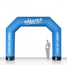 Torbogen Start Ziel aufblasbar - Bogen MAX Kärnten