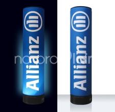 Aufblasbare Lichtsäule Easy MAX - Allianz