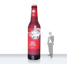 überdimensionale aufblasbare Bierflasche - Flaschen MAX craft Meyer