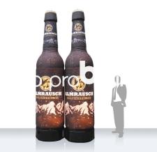 aufblasbare riesige Bierflaschen - Flaschen MAX Almrausch