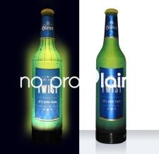 aufblasbare Werbeflaschen beleuchtet - Flaschen MAX Hirter Twist