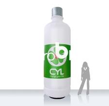 Riesenflasche aufblasbar - Super Flaschen MAX CYL