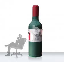 aufblasbare Flasche - Flaschen MAX vivenum