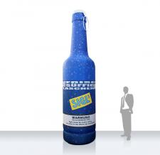 Aufblasbare Werbung Flasche - Flaschen MAX Sigls