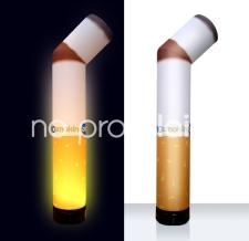 Aufblasbare beleuchtete Sonderform - Special MAX NO smoking Zigarette