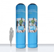 riesen Säule / Werbestele aufblasbar - Super MAX Barmenia
