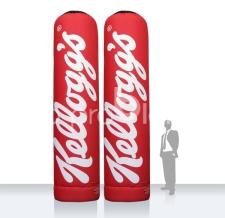 aufblasbare riesige Werbesäulen - Super MAX Kellog's