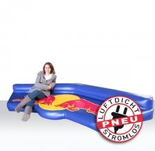 Sonderform Luftmatratze Red Bull