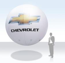 Aufblasbarer Werbe Ballon - Chevrolet