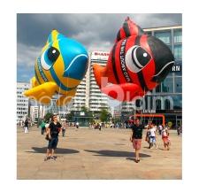Fliegende Sonderform - Swatch Fisch