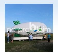 Zeppelin Fesselballon - Thüringer Meer