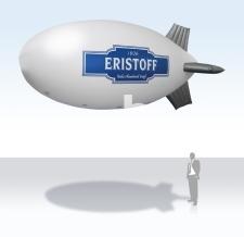 Fliegendes Luftschiff - Eristoff - 600 cm