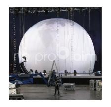 Aufblasbares Bühnenbild Mutter Erde - ORF