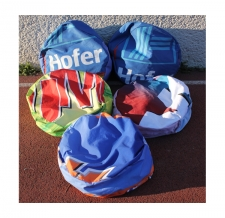 recycling von alten Werbehüllen - BRG 19 Taschen