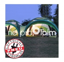 aufblasbares luftdichtes Evenzelt / Marktzelt / Event Shelter - Pneu Zelt SQUARE Tuborg