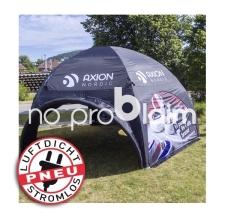 Messezelt / Werbezelt luftdicht - Pneu Zelt SQUARE Axion Nordic