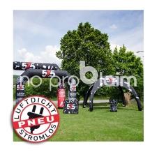 Pavillon aufblasbar / Event Shelter / Igluzelt - luftdicht - Pneu Zelt SQUARE 575