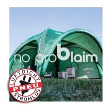 aufblasbares Werbezelt, Eventzelt ohne Gebläse - Pneu Zelt SQUARE