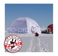 das windstabile aufblasbare Zelt - Pneu Zelt SQUARE