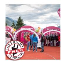 aufblasbare Promotion-Stände / Werbezelte - Pneu Zelt SQUARE helsana
