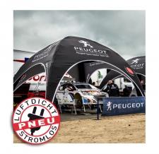 Luftdichtes Zelt - Pneu Zelt SQUARE Peugeot