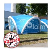 aufblasbare Zelte, Promotionzelt, Evnetzelt, Messezelt - TRIPOD postnord