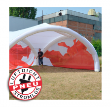 Zelt ohne Gebläse - Pneu Zelt TRIPOD