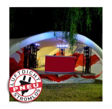 Bühnenzelt aufblasbar - Pneu Zelt TRIPOD