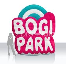 Sonderform Logo aufblasbar - Bogi Park - 300 cm
