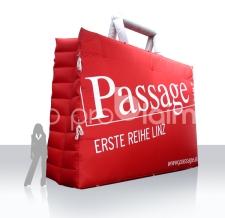 Einkaufstasche aufblasbar - Passage Linz