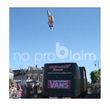 Aufblasbare Eventwand - Vans Freestyle