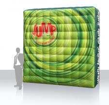 Werbewand aufblasbar - Jump
