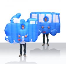 Maskottchen Kostüme - Walker Eisenbahn