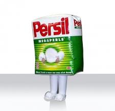 aufblasbare Lauffiguren - Walker Persil